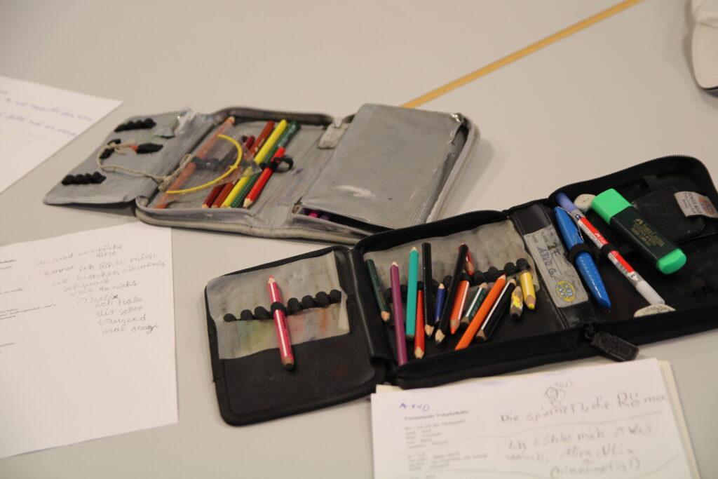 Materialien aus weiteren Workshops