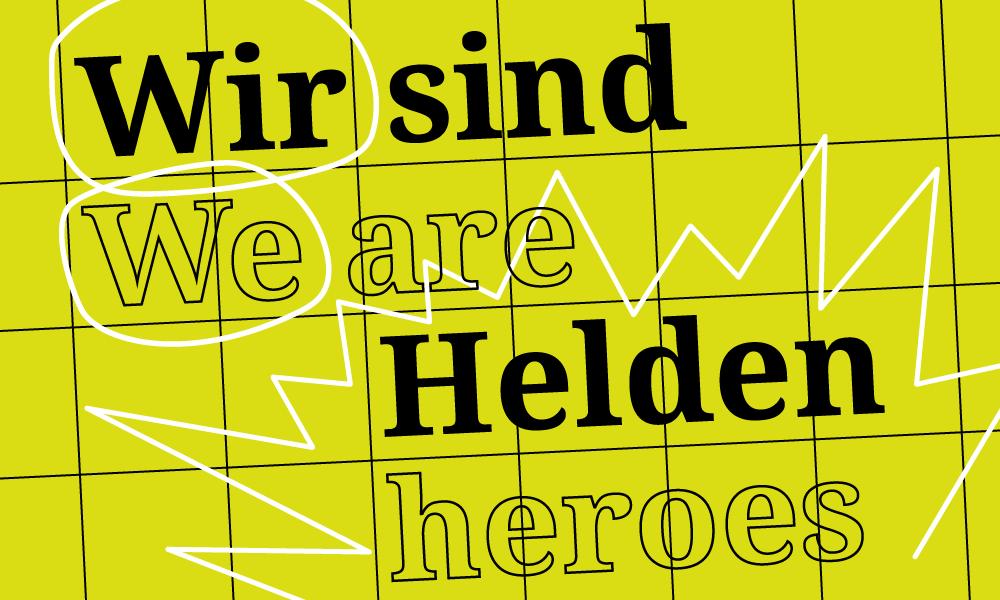 We are Heroes – Schreibend Figuren entwickeln